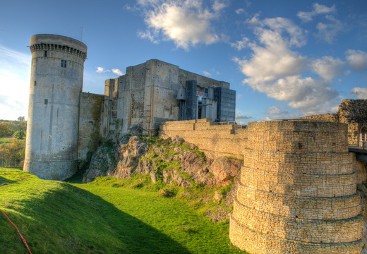 Castle of William the Conqueror in Falaise