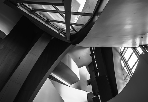 Walt Disney hall lobby