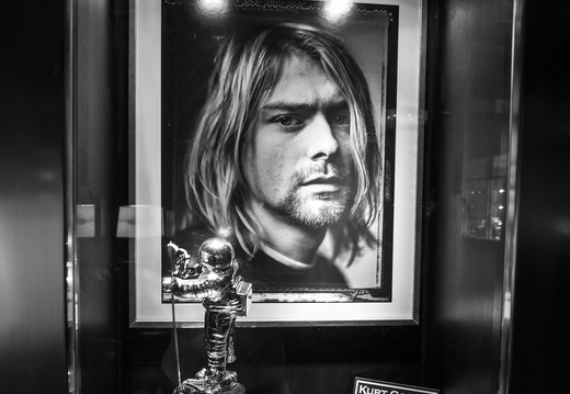 Kurt Cobain's MTV award in Vegas